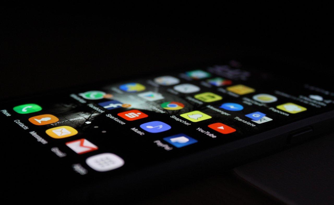 aplikacje na smartfonie