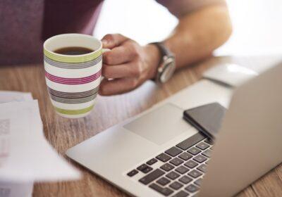 kawa i komputer