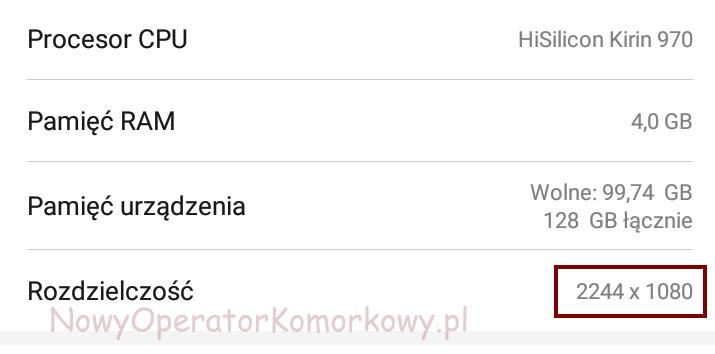 Rozdzielczość ekranu na Androidzie