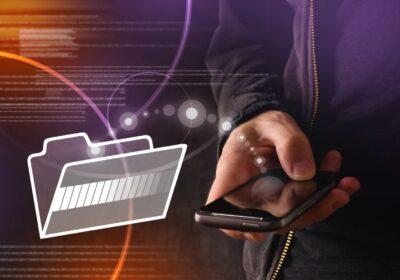 transfer danych na mobile